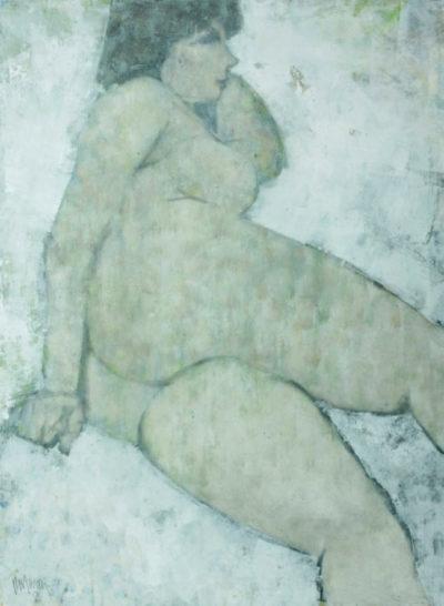 Douglas Owen Portway - Reclining Nude, 1986