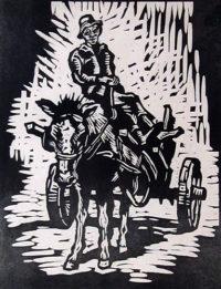Gregoire Boonzaier Donkey Cart