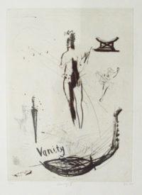 Deborah Bell Vanity II, 2005 Drypoint, linocut. 29/30 53, 5 x 39 cm