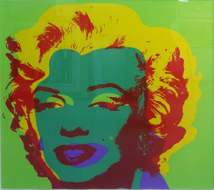 Andy Warhol, USA, (1928 - 1987), Marilyn Monroe(Marilyn), Silkscreen, 91,5cm x 91,5cm