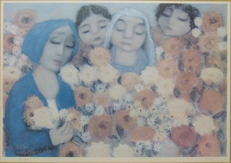 Pieter van der Westhuizen, SA(1931- 2008), _ 1999, signed lithograph 61-375, 85cm x 57,5cm