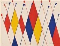 Alexander Calder , American ( 1898 - 1976), Un Drole de Poisson, 1966, Lithograph, signed 21%2F90, 65 cm x 50 cm