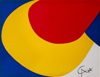 Alexander Calder American, 1898- 1976 Flying Colour series, 1974 Lithograph, signed in print 66cm x 51cm