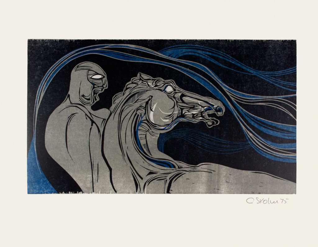 Cecil-Skotnes-SA-1926-2009-He-borrows-the-Diary-Horse-no.6-Colour-woodcut-signed-1975-56cm-x-735cm.jpg