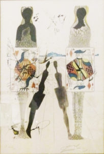 Salvador Dali Spanish, 1904-1989 Lithograph, signed 141 of 300 42cm x 52cm