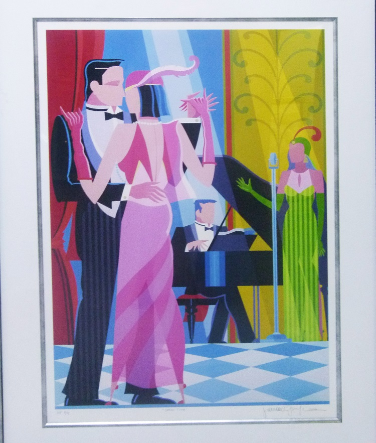 Giancarlo Imiglia, Italian (1940-), Show Time, 2004, Lithograph signed 8-9, 58cm x 87cm