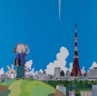 Takashi Murakami Japan, 1963- Tokyo Towers, signed 193 of 300 67cm x 67cm
