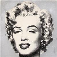Mr. Brainwash (Thierry Guetta), France (1966-) Diamond Girl Silkscreen with diamond dust on paper, 21/90 56,5cm x 56,5cm