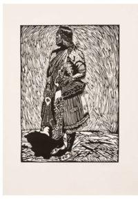 Dzunisani Maluleke, SA (1986-) Bombo reru, 2013 Linocut 3/10 35,5 cm x 50cm