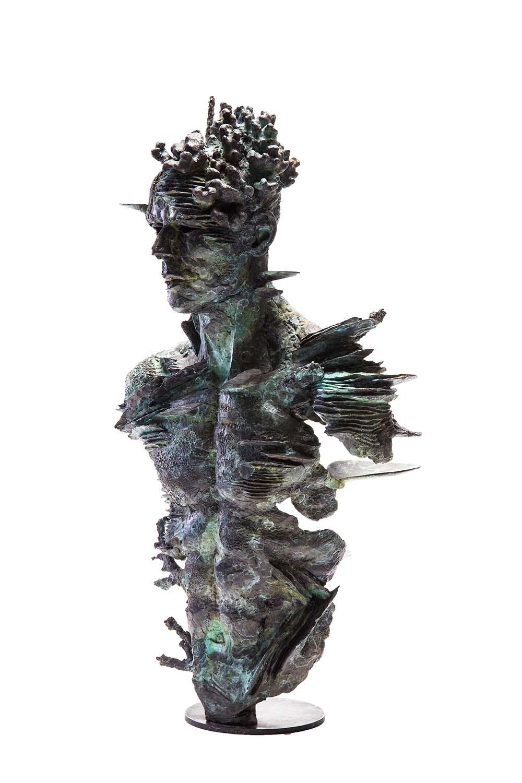 Stanislaw Trzebinski The Solemn Truth 2016 Bronze Edition 1/5 AP 88cmx53cmx30cm