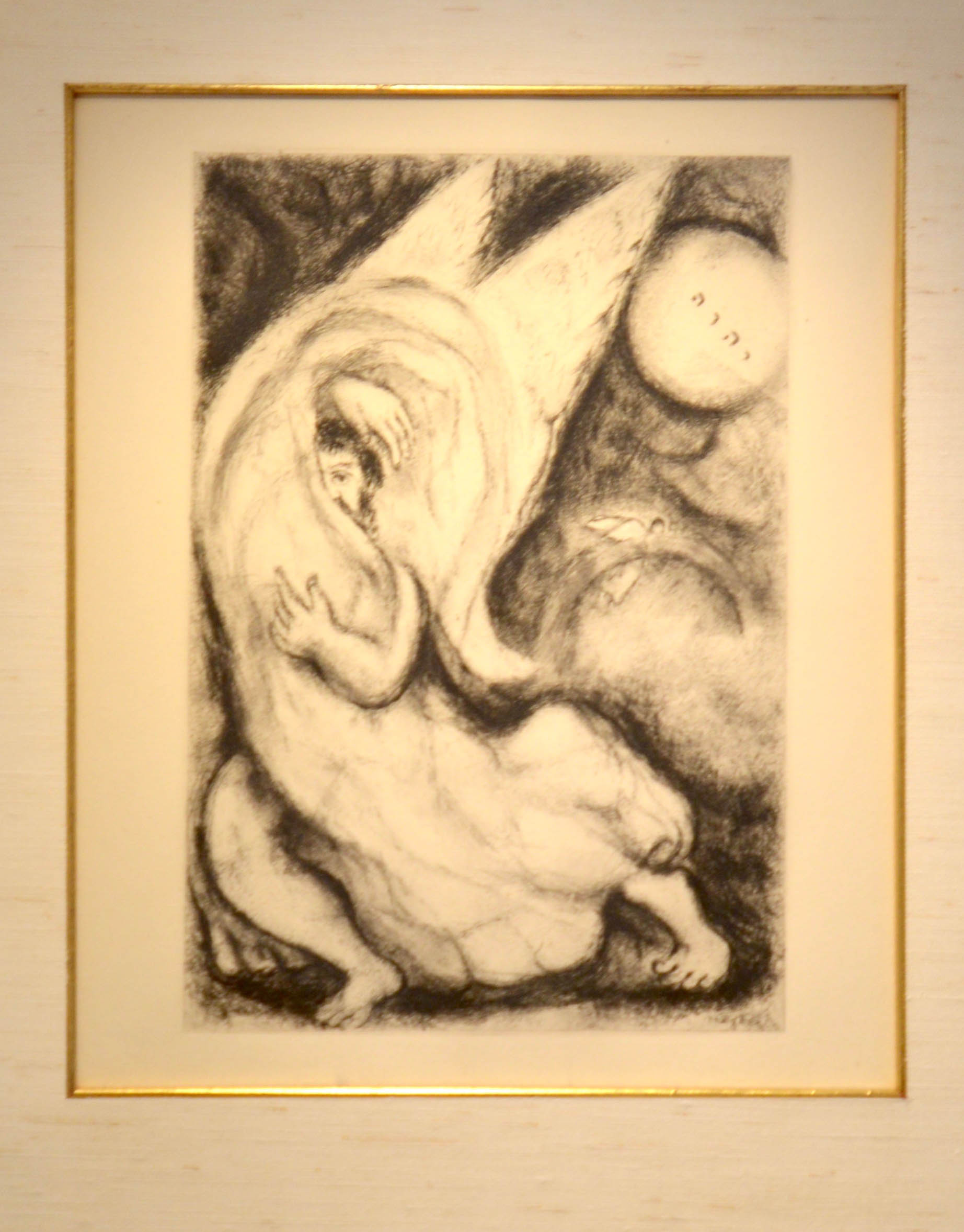 Marc Chagall (1887 – 1985) Promise to Jerusalem, 1956 Etching on motval paper 31 x 23 cm (SOLD)
