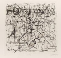 Mischa Fritsch (1970 - ) Reality, 2014 Drypoint 2/10 57 x 53 cm