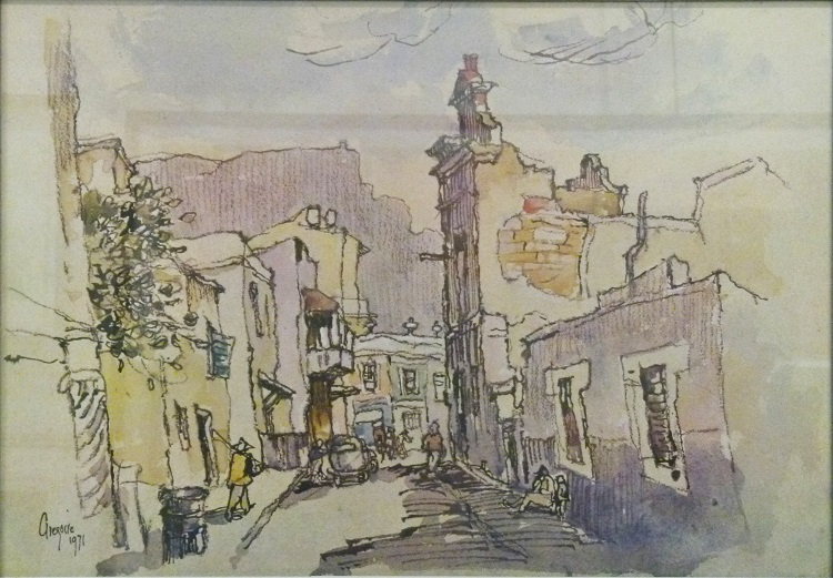 Gregoire Boonzaier, SA(1909 -2005), District Six,