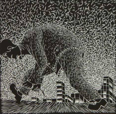 Sandile Goje - Walking to the other side of town, 2002