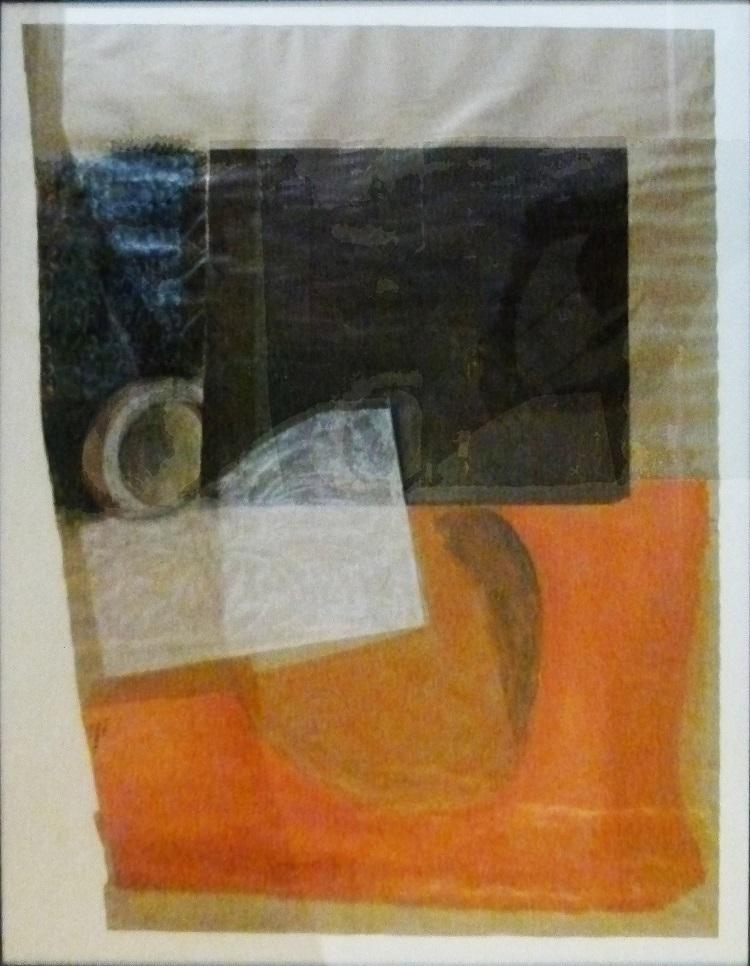Amos Letsoalo, SA (1969 - ), Pots, Mixed Media on paper, signed, 126cm x 96cm