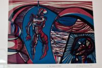 Cecil Skotnes SA, 1926-2009 The Island of death, signed 1975 woodcut, 66 of 75, 62cm x 49cm (1)
