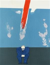 Robert Hodgins , (SA 1920 - 2010)All Gone ...all gone