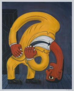Norman Catherine, SA (1949 - ), Red Rubber Neck Too,2006, colour photolithograph 108-120, 58cm x 65cm