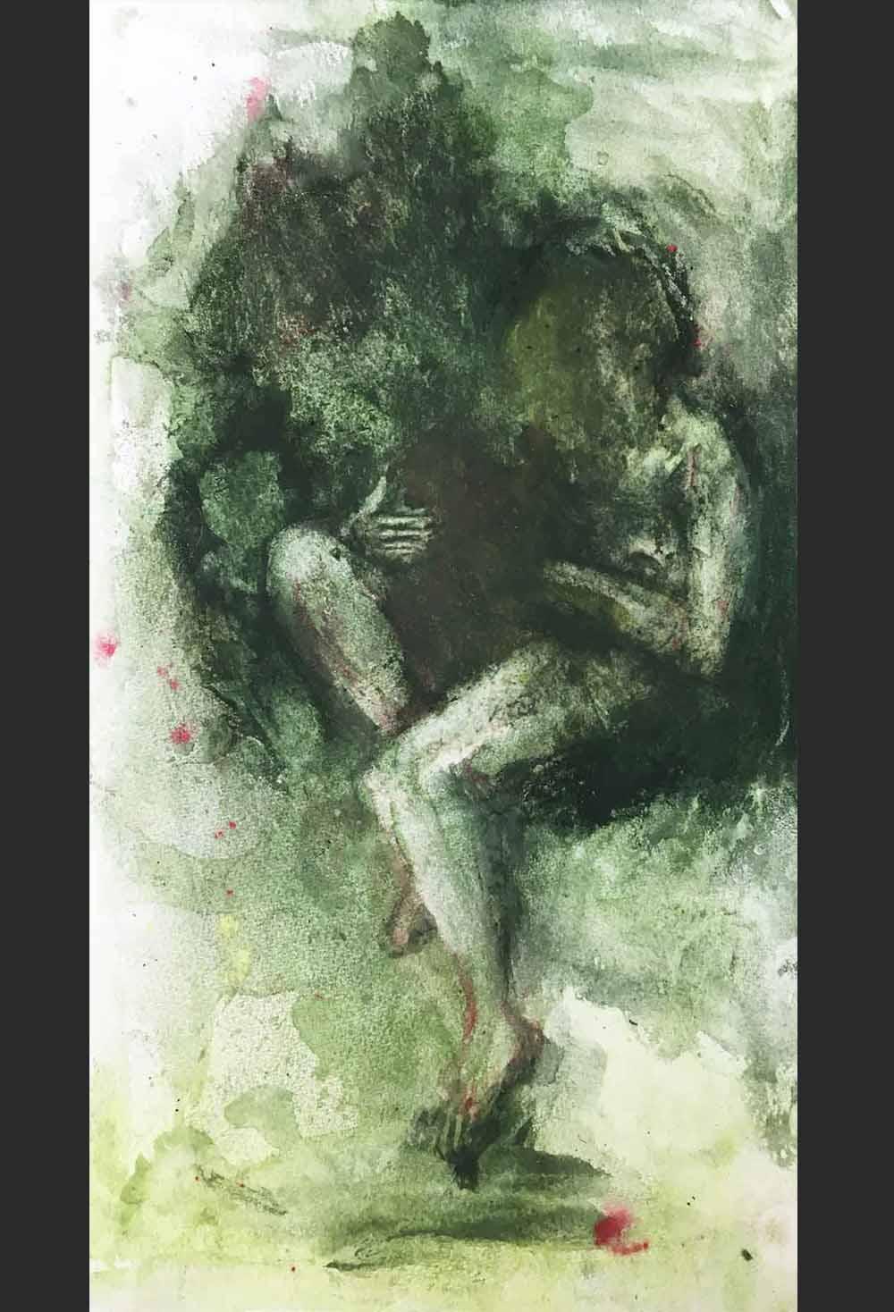 Sue Greeff Nurture 2017 Giclé print on epson smooth paper Edition- 1 of 10 25 x 13.5 cm