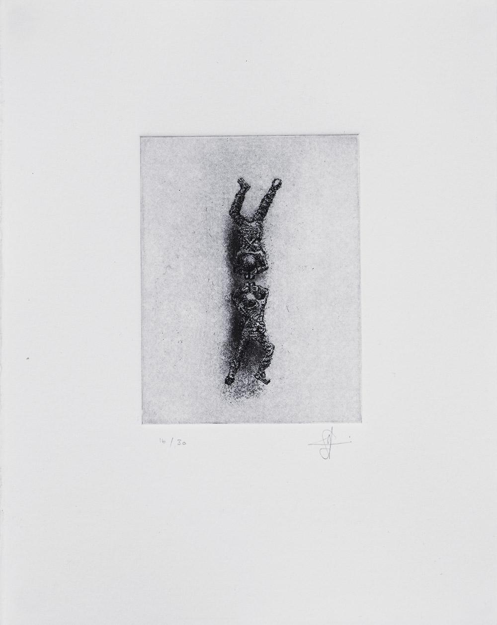 Inga Somdyala Kude Kafuphi 2017 Etching - Edition of 5 + 3 AP 20,5 x 15,5 cm