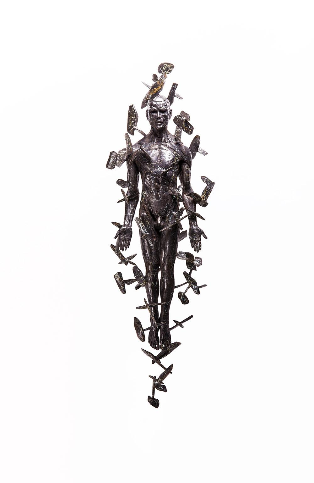 Stanislaw Trzebinski Levitas, 2016 Bronze Edition 1/7 26cm x 84cm x 35cm
