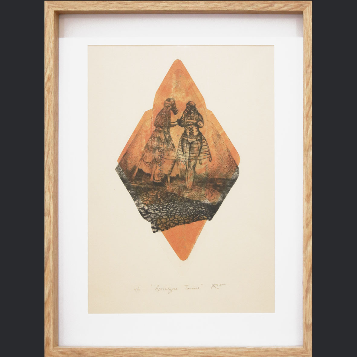 Adrian Ranger, Apocolapse Tannies - 4 of 5, 2018, Hyprid Print, 42.5 x 52.5 cm