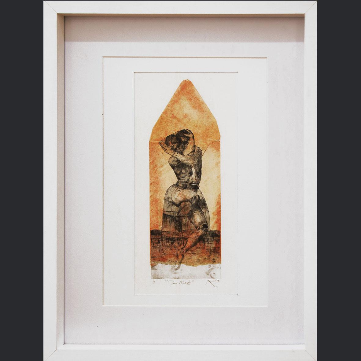 Adrian Ranger, Two Minds - 1 of 1, 2018, Hyprid Print, 32.5 x 42.5 cm